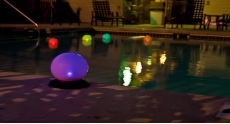 Solar Floating Lights